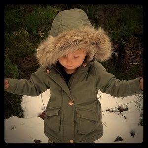 Old Navt Winter Coat